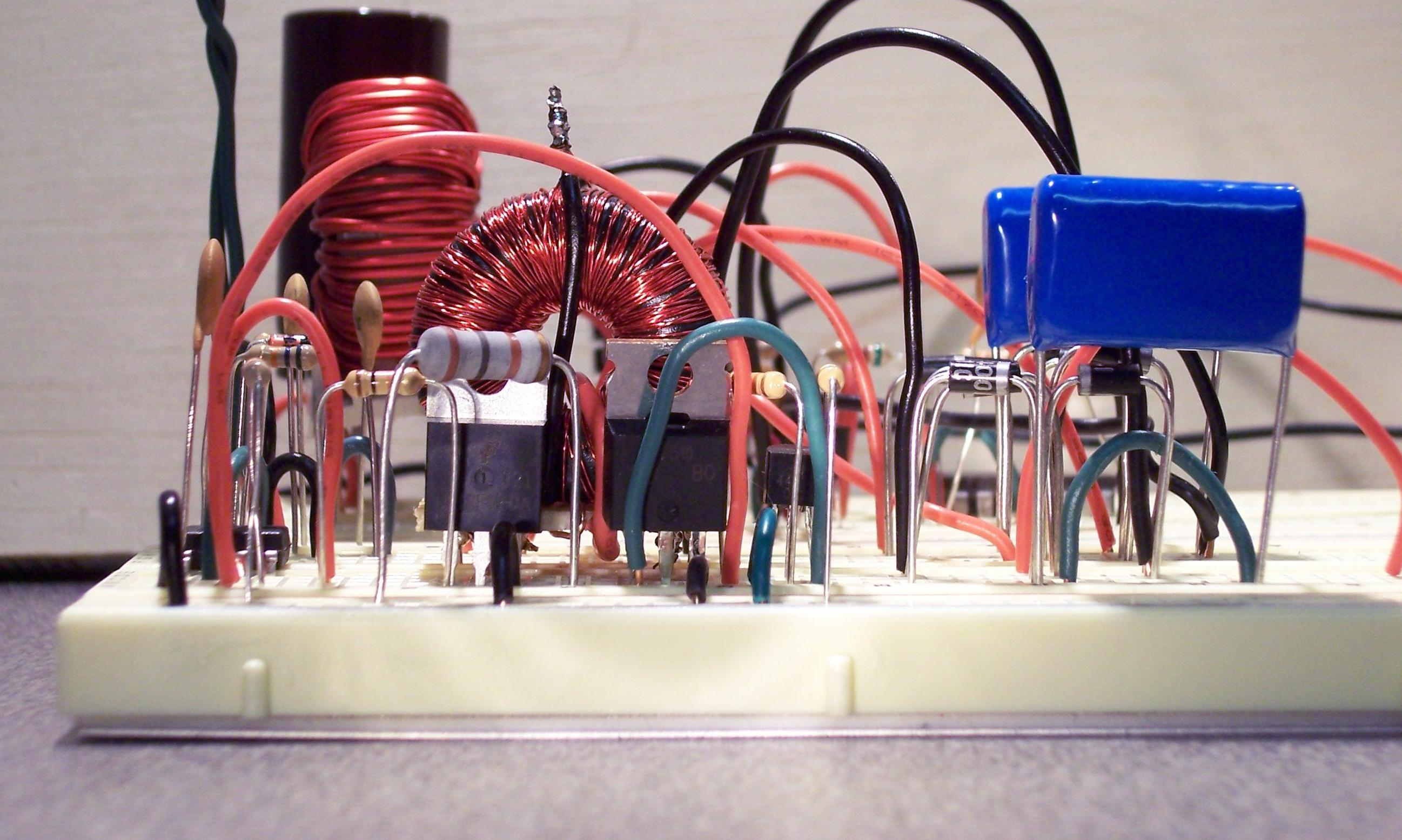J Mike Rollins Ac Inverter Motor Speed Control Circuit Using Lm3524 Click To Enlarge Reduce