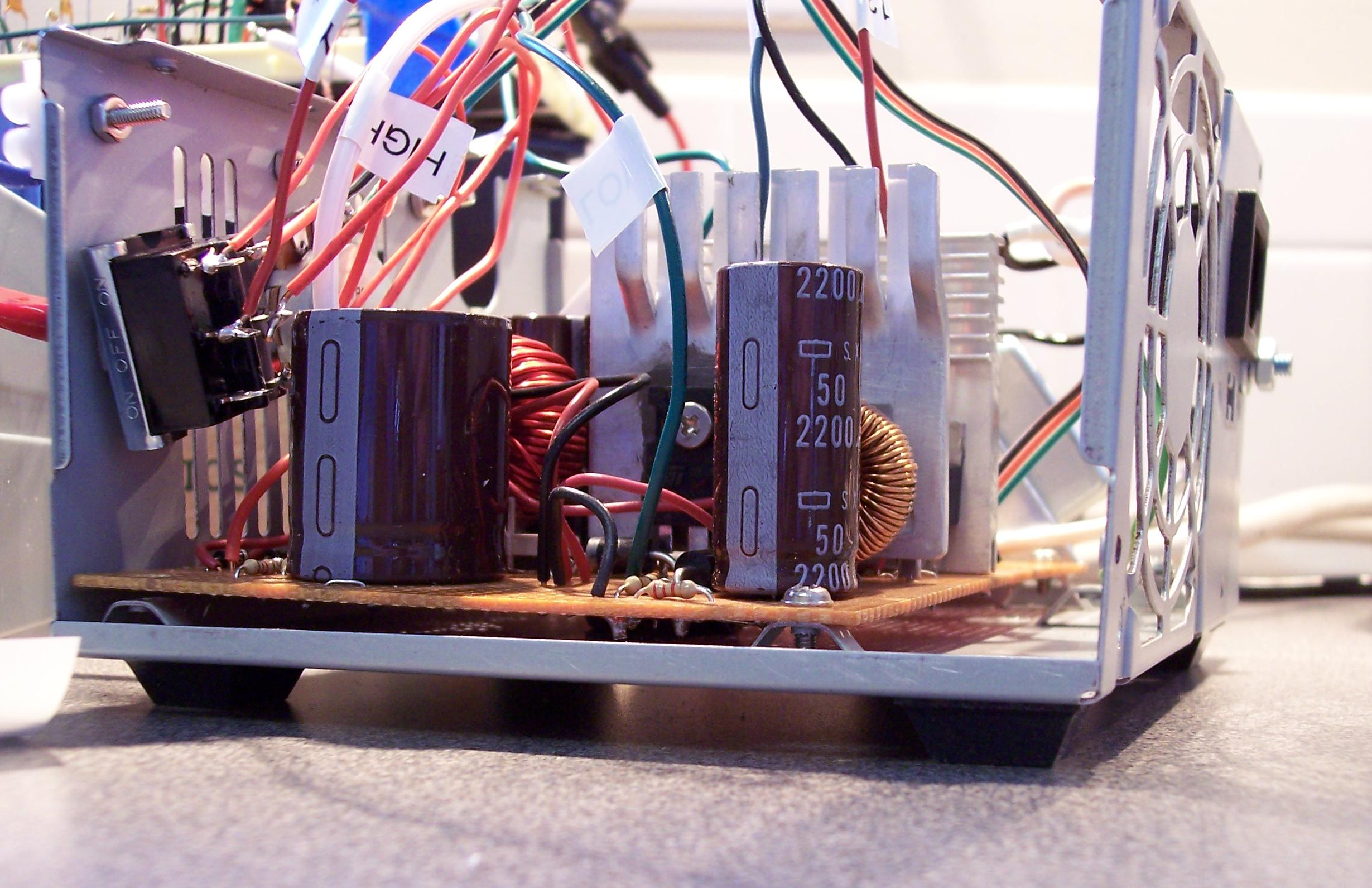 J Mike Rollins Powersupply Motor Speed Control Circuit Using Lm3524 Click To Enlarge Reduce