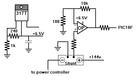 J mike rollins data meter overview for Motor current sensing circuit