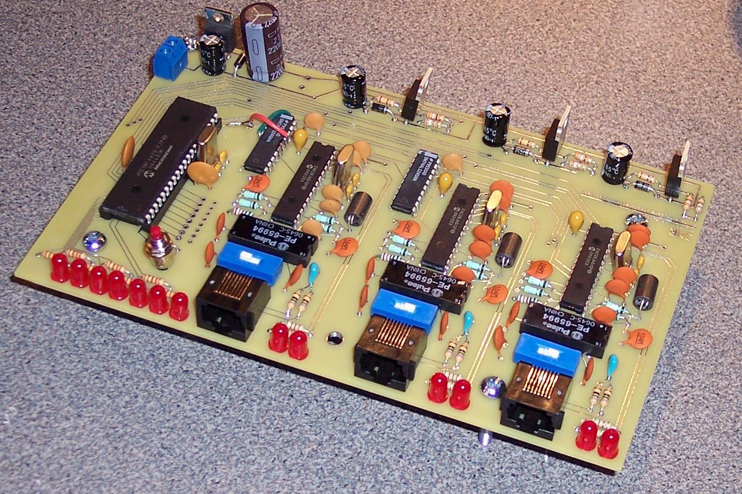 J Mike Rollins Fw First Pcb Motor Speed Control Circuit Using Lm3524 Click To Enlarge Reduce